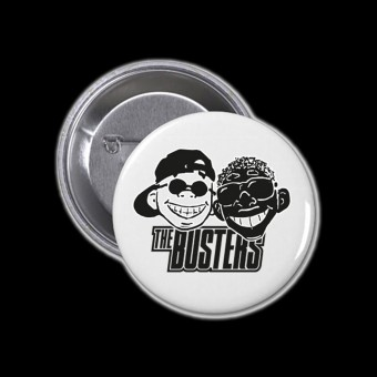 Button - Busters - SKA Against Racism