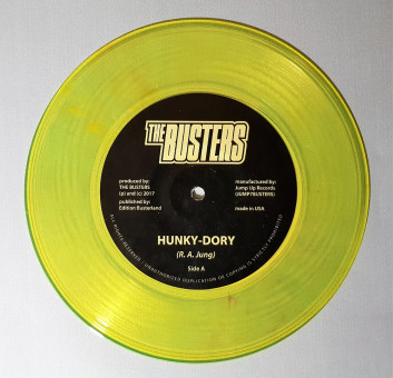 Single - Busters - Hunky Dory, goldgelb