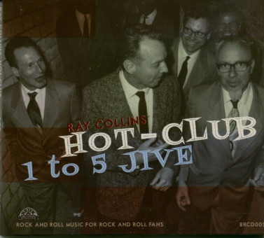 LP - Ray Collins Hot Club - 1 To 5 Jive