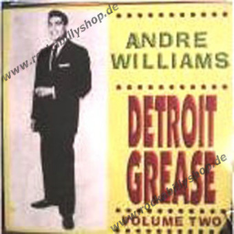 LP - Andre Williams - Detroit Grease Vol. 2