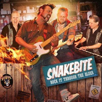 CD - Snakebite - Rock It Through The Blues