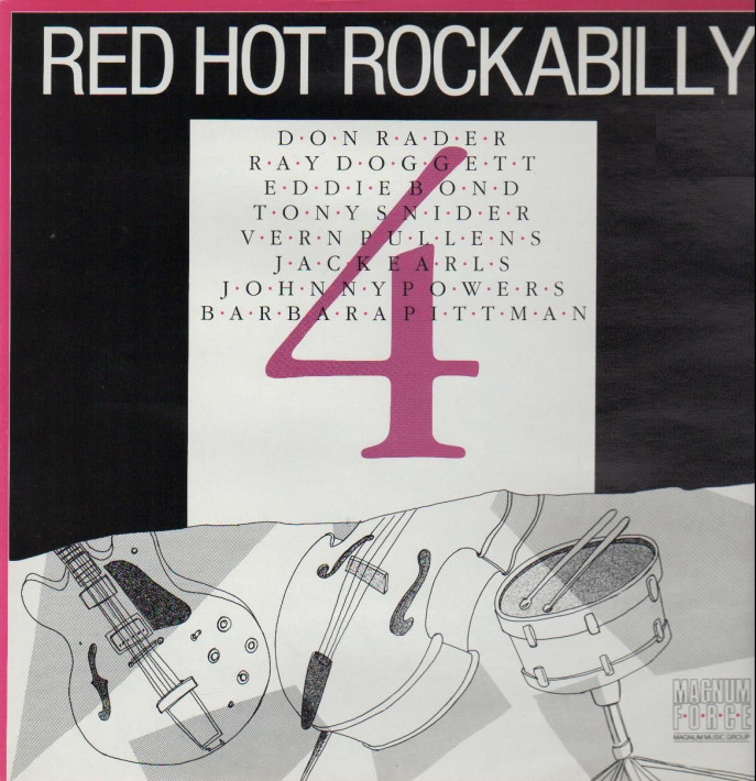 LP - VA - Red Hot Rockabilly Vol. 4