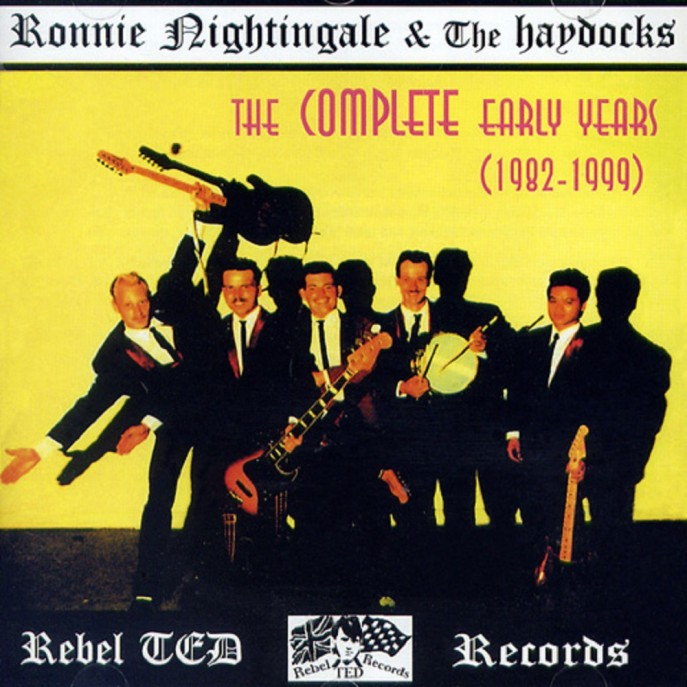 CD - Ronnie Nightingale & The Haydocks - The Complete Early Year