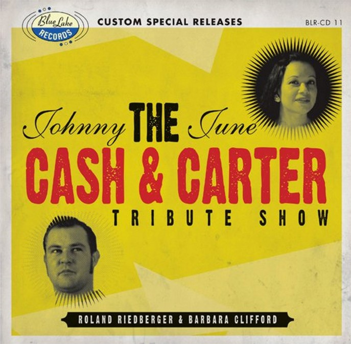 CD - Roland Riedberger & Barbara Clifford - The Johnny Cash and