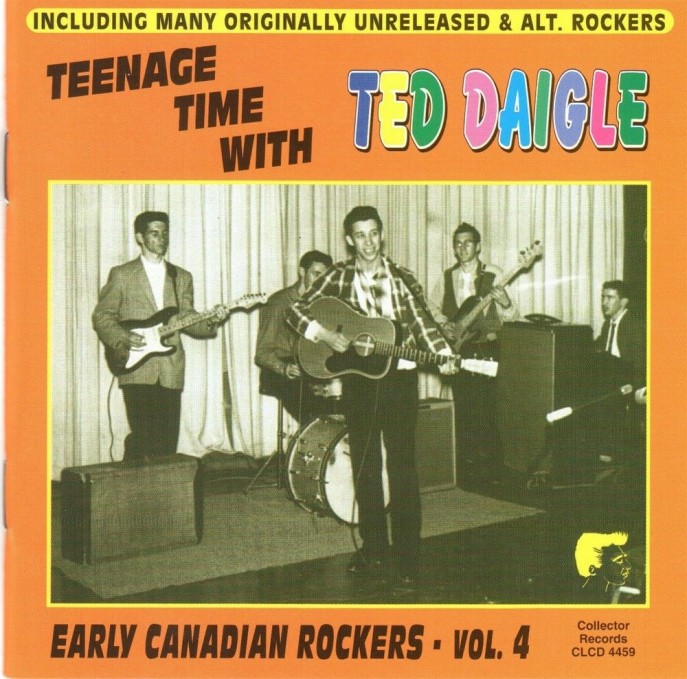 CD - Ted Daigle - Teenage Time With Ted Daigle