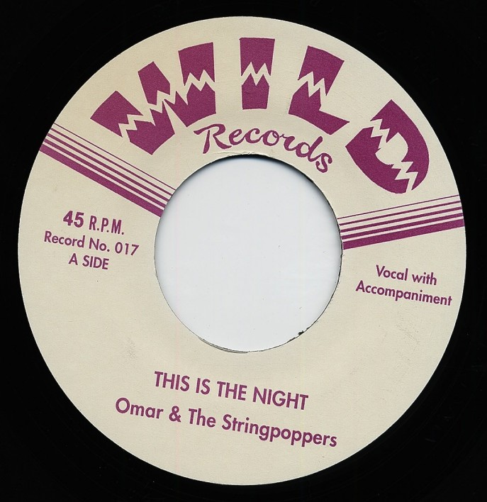 Single - Omar & the Stringpoppers - 1. This Is The Night, Shake