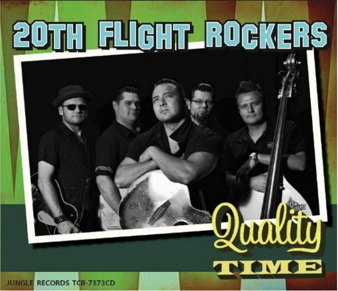 CD - 20th Flight Rockers - Qualitiy Time
