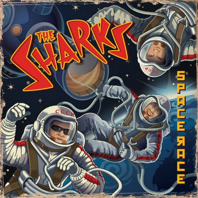 10inch - Sharks - Space Race