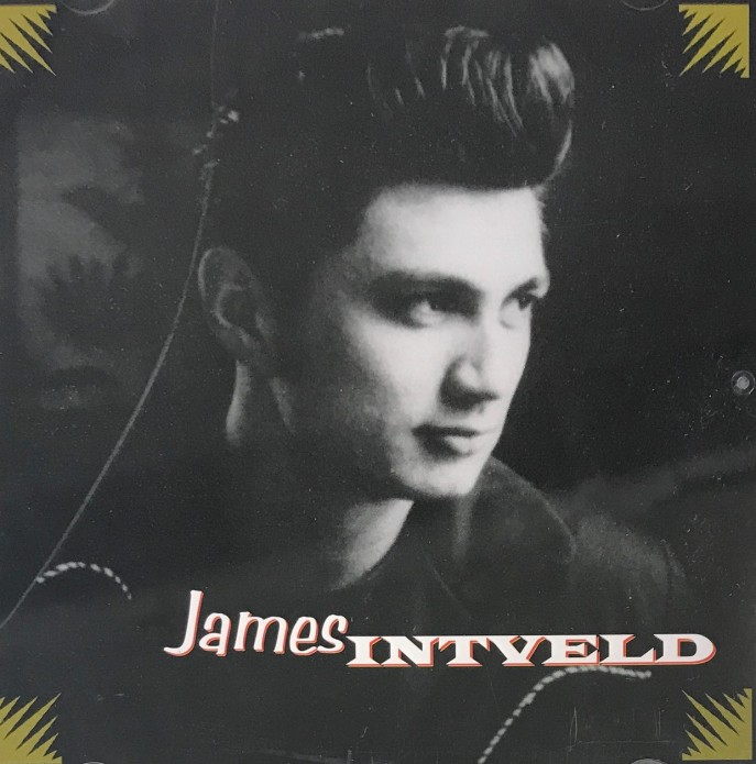 CD - James Intveld - self titled