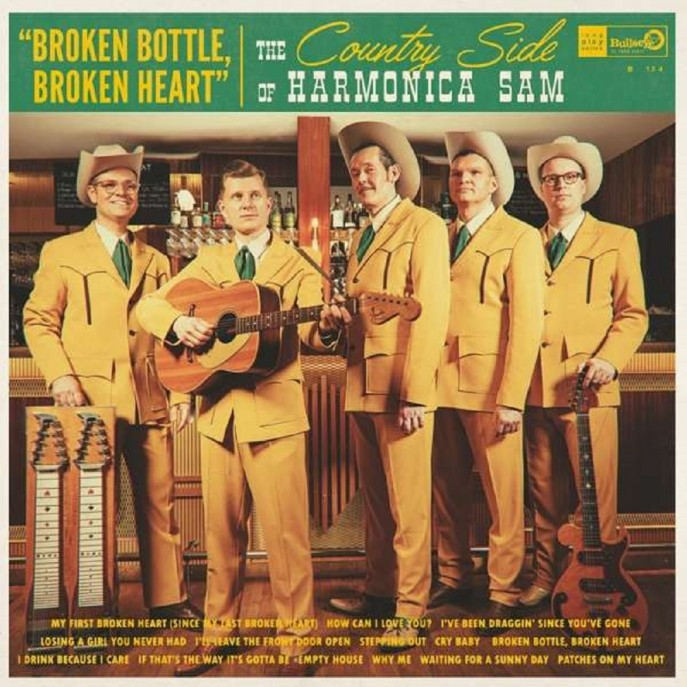 LP - Harmonica Sam - Country Side Of - Broken Bottle, Broken Heart