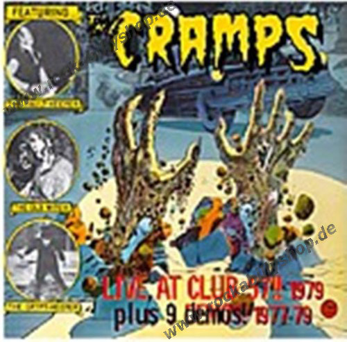 LP-2 - Cramps - Live At Club 57 & Studio Demos