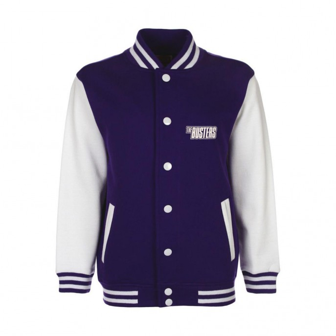 College-Jacket - BUSTERS SKA - darkblue-white