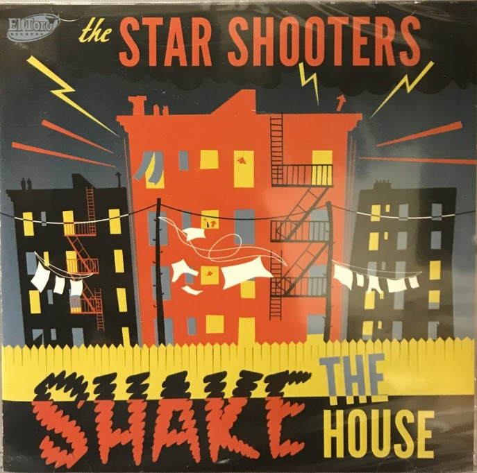 CD - Star Shooters - Shake The House