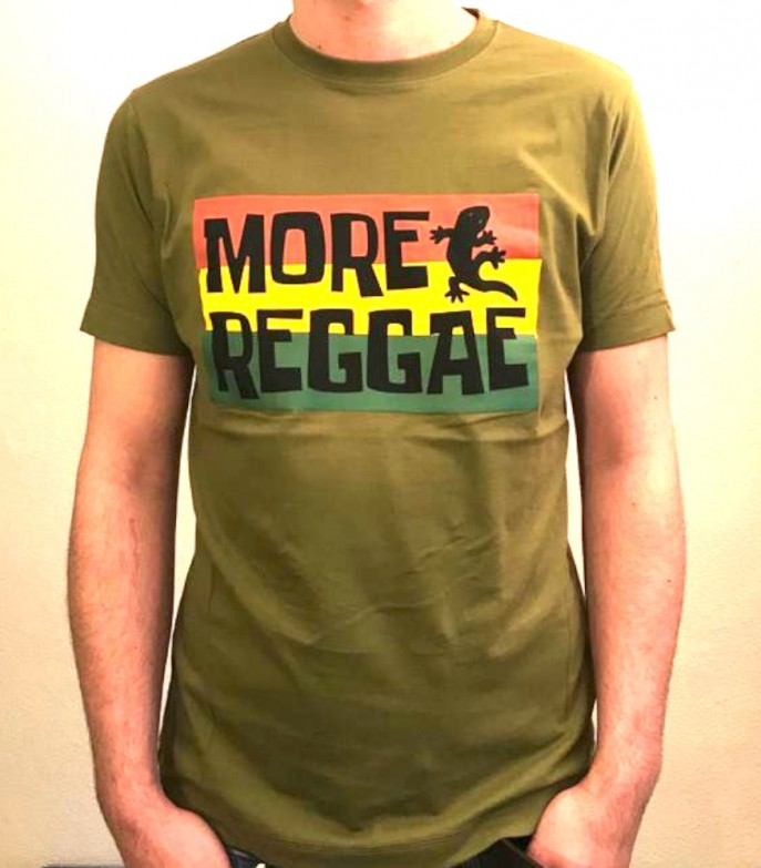 T-Shirt - More Reggae - oliv