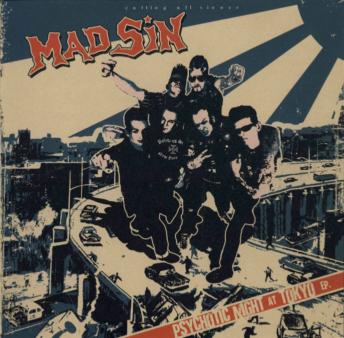 LP - Mad Sin - Psychotic Night At Tokyo
