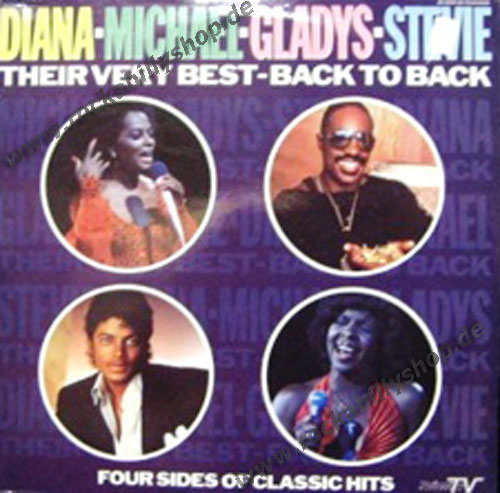 LP - VA - Diana - Michael - Gladys - Stevie; Their very Best - B