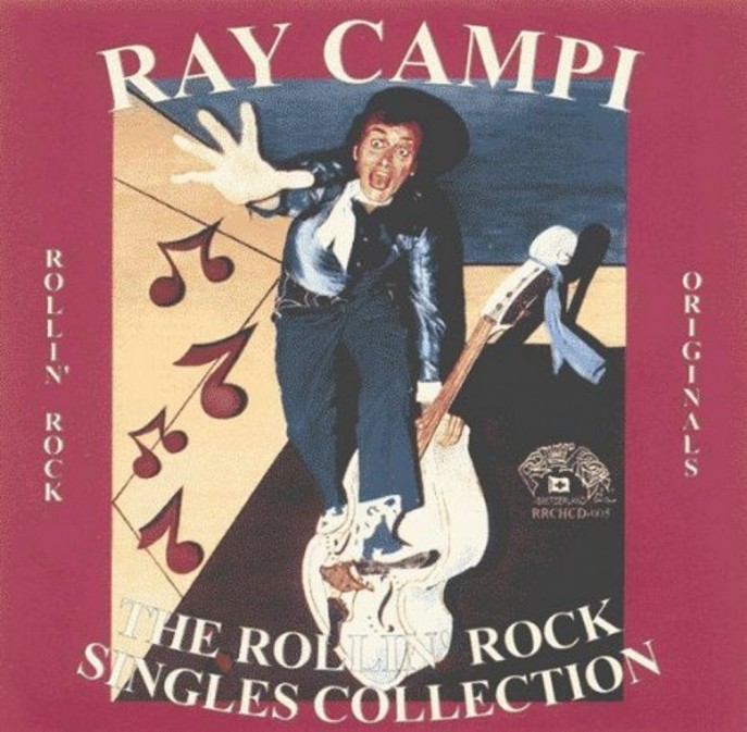 CD - Ray Campi - The Rollin' Rock Singles Collection