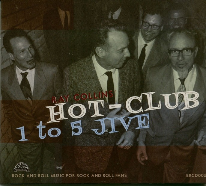 CD - Ray Collins Hot Club - 1 To 5 Jive