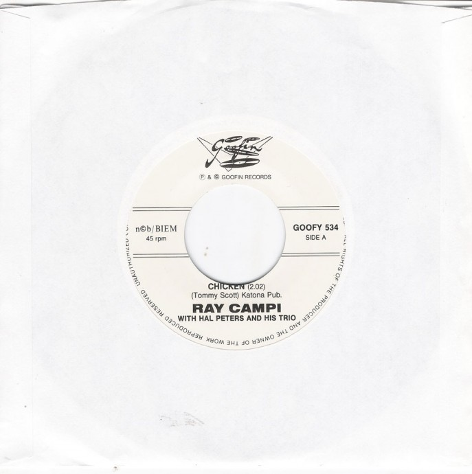 Single - Ray Campi with Hal Peters and his Trio - Chicken, Finlandia Is Grandia