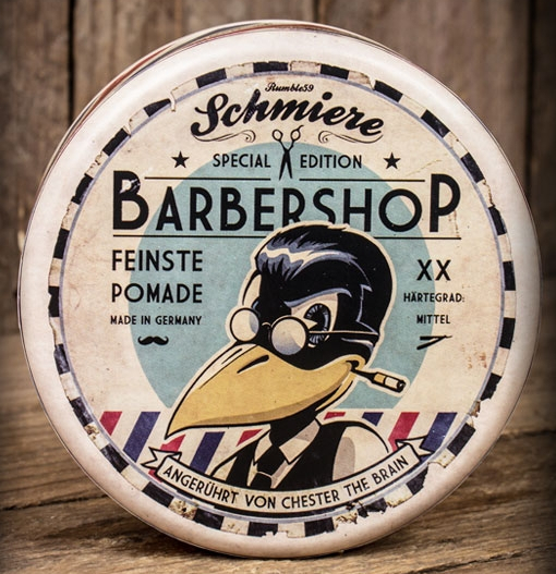 Pomade - Schmiere - Barbershop Chester The Brain (Mittel) (140ml)