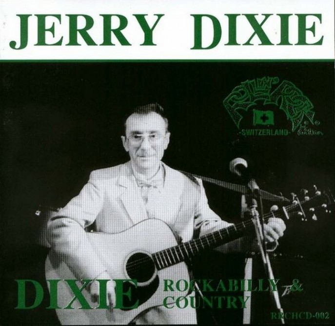 CD - Jerry Dixie - Dixie Rockabilly and Country