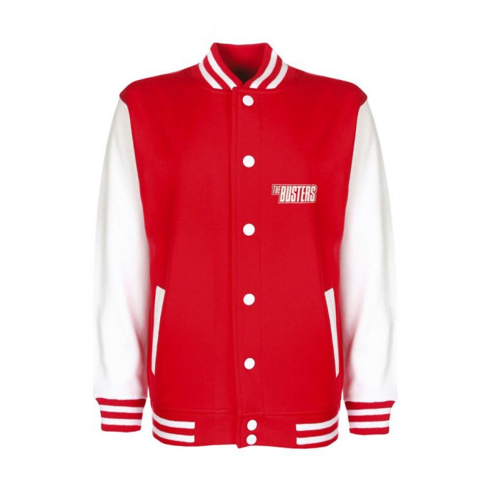College-Jacket - BUSTERS SKA - red-white