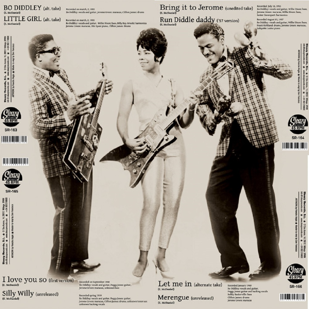 Single - Bo Diddley - 1958 and 1959 alternate and unissued takes