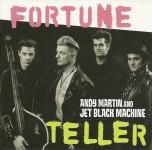 CD - Andy Martin & Jet Black Machine - Fortune Teller