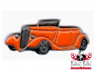 Hot Rod Pin - Street Rodder orange