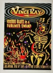 Poster - Vince Ray - Voodoo Blues, signiert