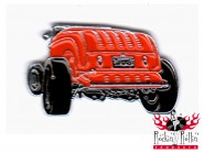 Hot Rod Pin - Hot Rod Heck, rot