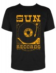 T-shirt Steady - Sun Records Record Player
