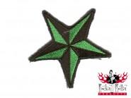 Aufnäher - Nautical Star Grün