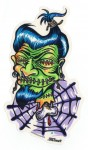 Sticker - Von Franco  - Shrunken Head