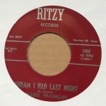 Single - Mabel Franklin - Let?s Do The Wiggle / Dream I Had Last Night