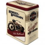 Vorratsdose L - Harley Davidson Flathead