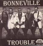 Single - VA - Jimmy Castle And The Knights - The Cat From Tennessee, Bonneville - Trouble