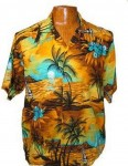Hawaii - Shirt - Sunset Yellow