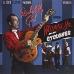 CD - Manny Jr And The Cyclones - Rockabilly Girl