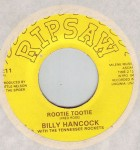 Single - Billy Hancock - Rootie Tootie, I Can't Be Satesfied