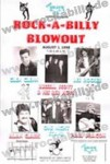 DIN A3 Poster - Rock-A-Billy Blowout