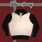 Deluxe Jersey - creme/schwarz