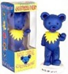 Wackelfigur - Greatful Dead Bear - blue