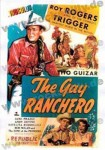 Poster DIN A3 - Roy Rogers - The Gay Ranchero