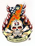 Sticker - Vince Ray - Sweet Unlucky 13