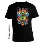 T-shirt Posterpop - Von Franco - Piston Tiki