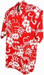 Hawaii - Shirt - Waikiki Light Red