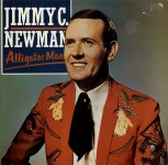 LP - Jimmy C. Newman - Alligator Man