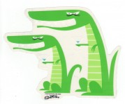 Sticker - Shag - Mocking Gators