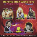 CD - VA - Before They Were Hits or We Did It First Vol. 5
